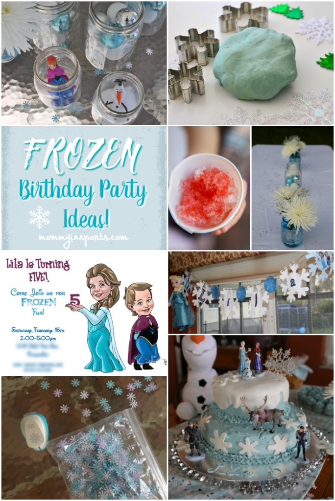 Frozen Birthday Party Ideas GFX