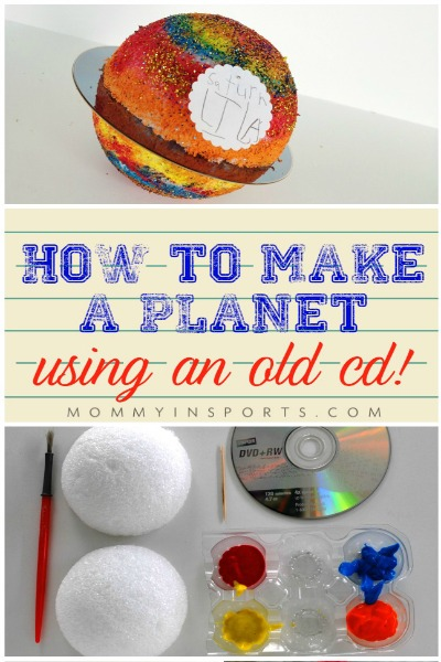 How to Make a Planet Using an Old CD PIN