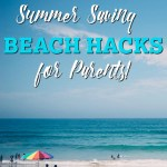 Heading to the beach but worried about the mess with the kids? Check out these top 5 summer saving beach hacks for parents! Summer days with be a breeze!