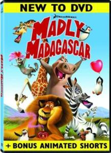madly madagascar box art