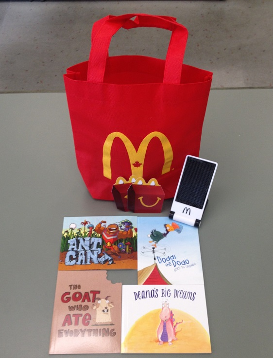 mcdonald's canada book prize pack
