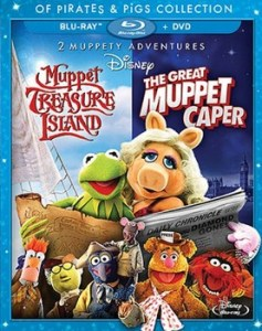 muppet treasure island great muppet caper blu-ray