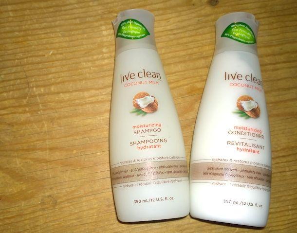 live clean coconut milk hair care