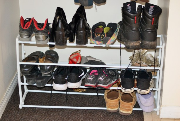 ohuhu 20 pair shoe rack