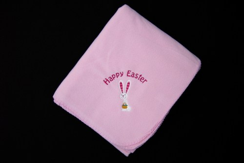 Easter Fleece Blanket