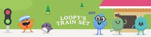 loopy's train set logo