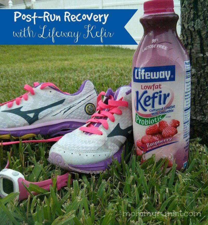 Post-Run Recovery with Lifeway Kefir | Mommy Runs It | #KefirCreations #shop #cbias