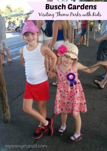 Our Visit to Busch Gardens + 5 Tips for Visiting Theme Parks with Kids