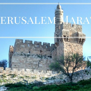 Looking Back: The Jerusalem Marathon | Mommy Runs It | #irunjem