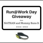 Run@Work Day Giveaway from NATHAN