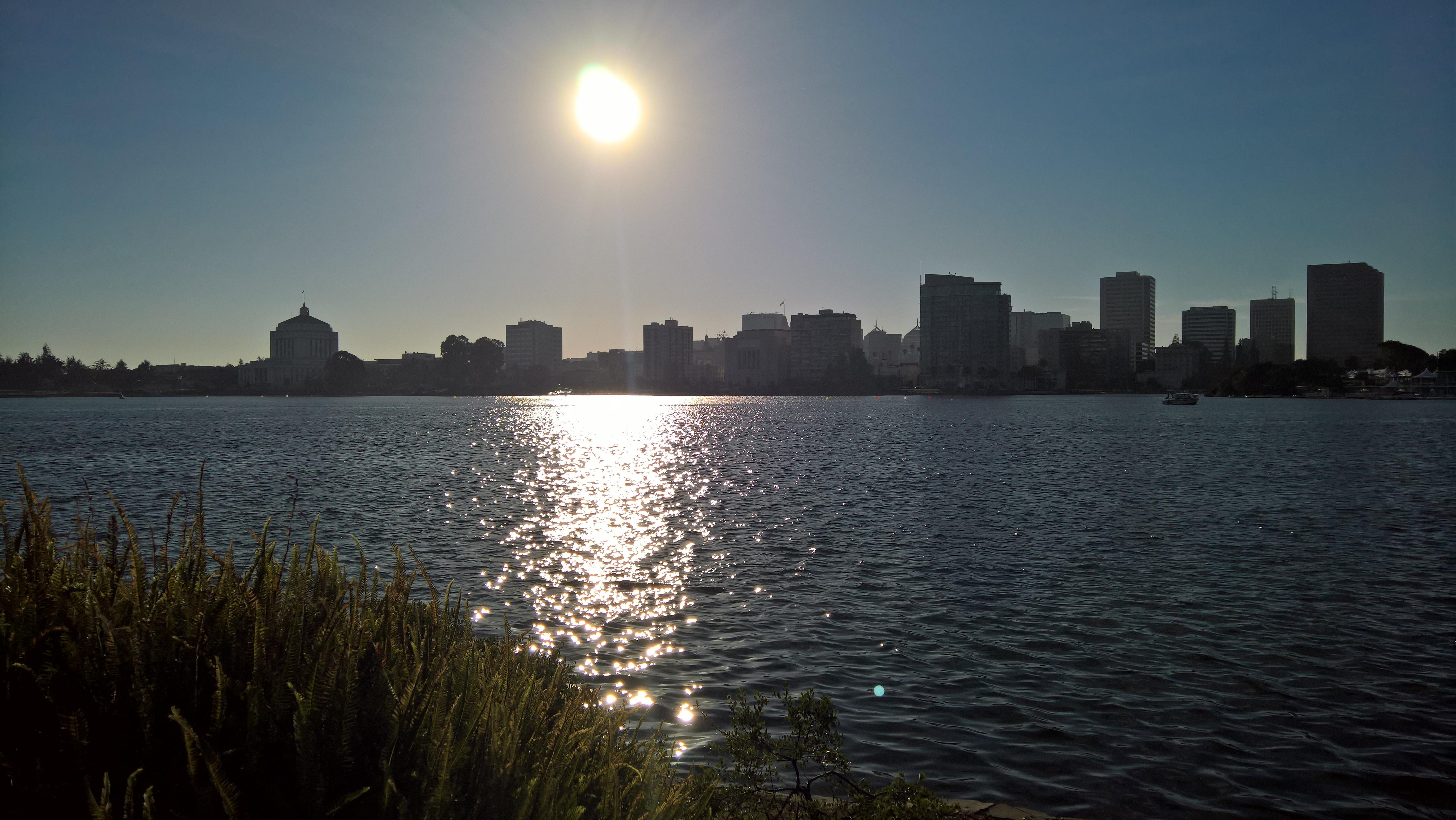 Enjoying Lake Merritt At It's Best