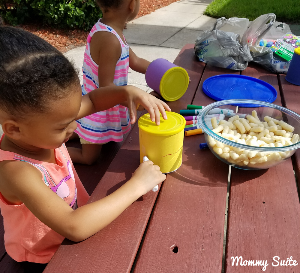 Toddler Drum Craft