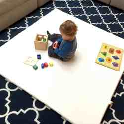 Small Of Baby Floor Mat