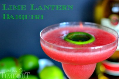 Lime Lantern Daiquiri - My Signature Cocktail! - Mom On Timeout