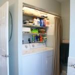 Upstairs Bathroom - Washer/dryer area