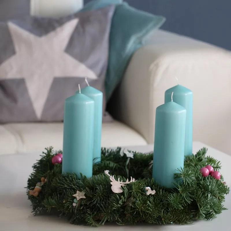 kinderleicht adventskranz selber binden. Black Bedroom Furniture Sets. Home Design Ideas