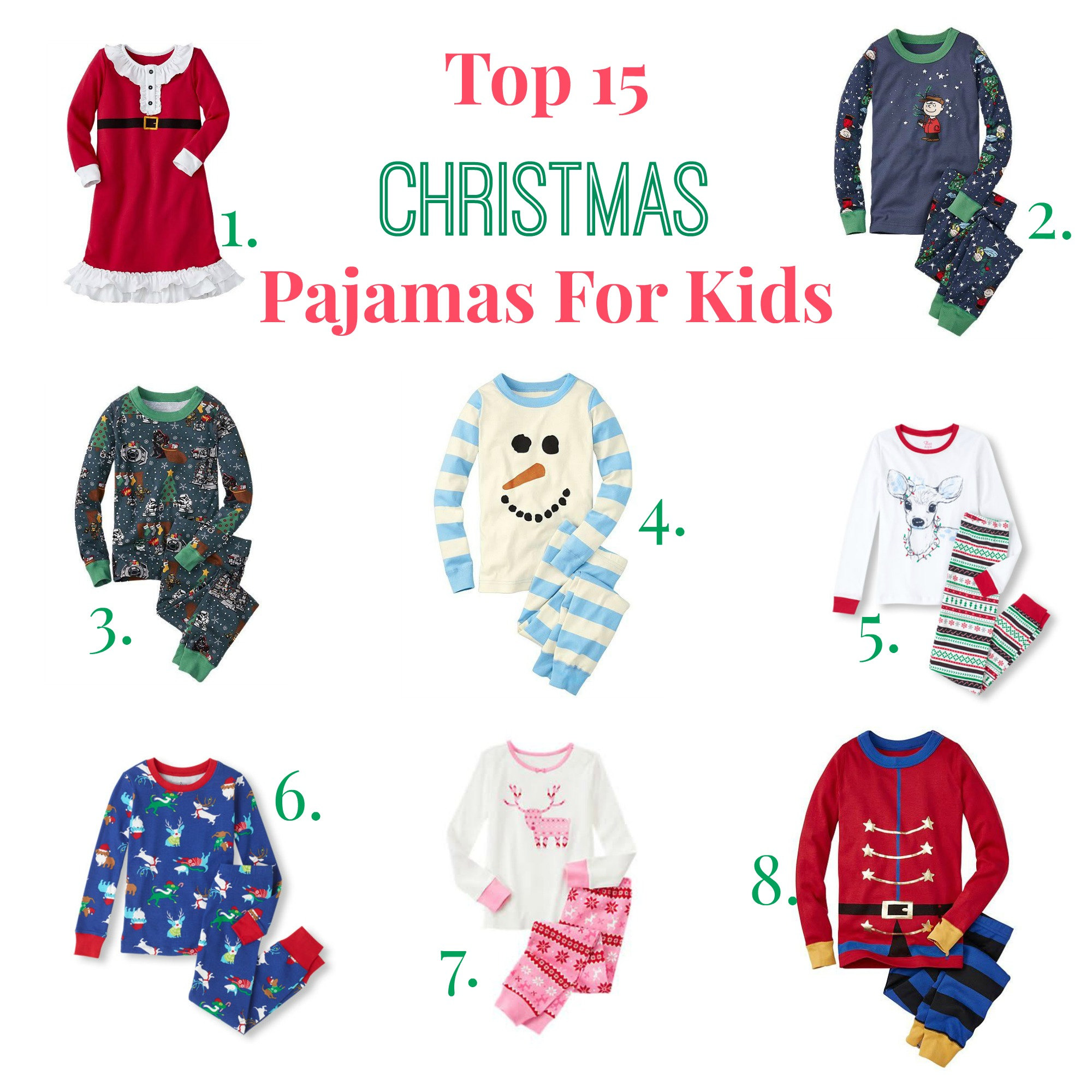 Fullsize Of Kids Christmas Pajamas