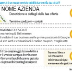 Stampa e grafica coupon