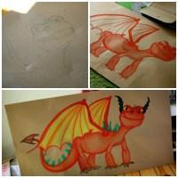 [DIY] Die Drachen von Berk Geburtstagsfeier