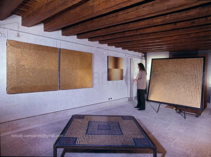 Sestiere  Cannaregio Venezia mos 29 Orsoni Mosaici, Esposizione