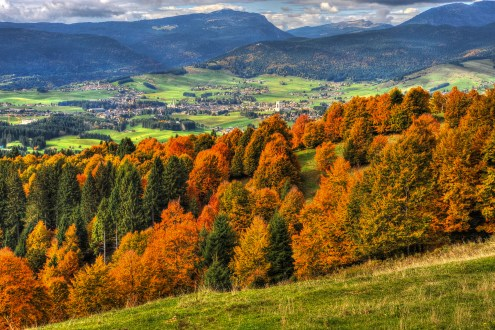 Altopiano di Asiago a tutto foliage