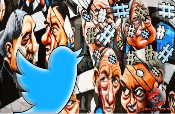 hashtag-Twitter-politici