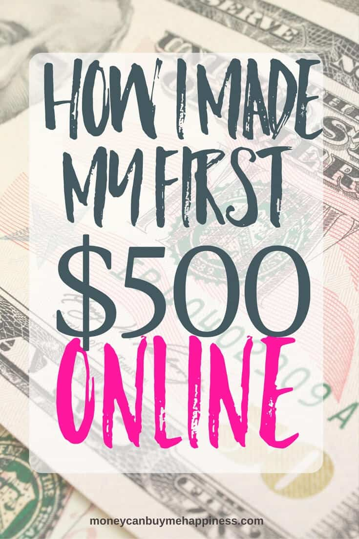 If you've started a blog but your pageviews aren't high yet, don't despair. You can still make money with a small blog. This post shows exactly how I made over $500 with my small blog, and I plan to make more in the future!