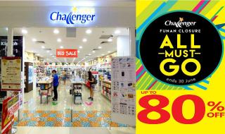 Funan Challenger Closure Sale