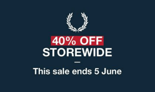 Fred Perry Sale 19 May 16