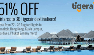 Tigerair NTUC Promotion