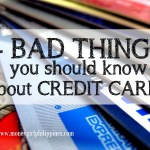 4 Bad Things You Should Know about Credit Cards