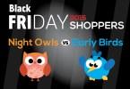 Black Friday 2015 Night Owl Vs Early Birds
