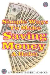 Simple Ways to Make Saving Money a Habit