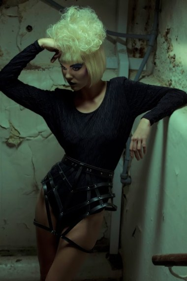 Cage Panniers, Model: Klaudija Vektere, Makeup: Stefanija Vektere, Hair: Anna Romanenkova, Photographer: Rob Voodoo