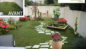 Emejing Amenager Un Rez De Jardin Images - Design Trends 2017 ...