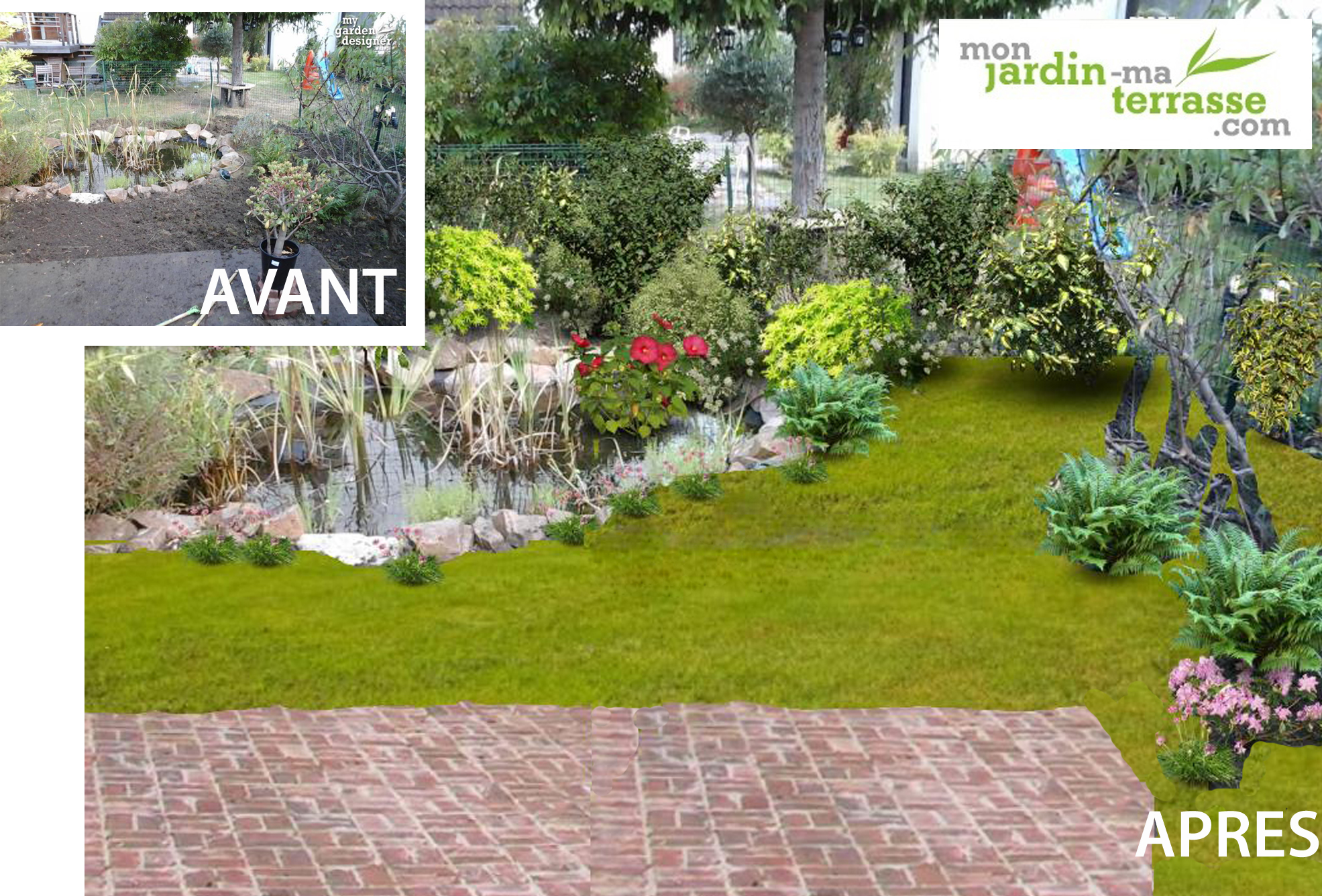 Am nager son bassin de jardin monjardin for Amenager son jardin exterieur
