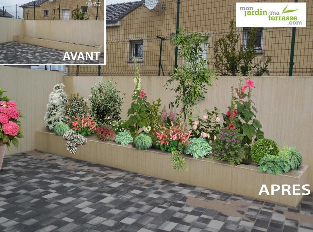 Terrasse monjardin page 2 for Amenagement jardin longueur