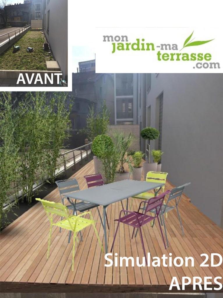 aménagement toit terrasse appartement