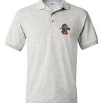 Silver Robot Polo Shirts