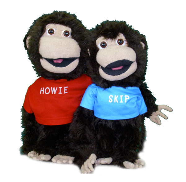 howie and skip monkisee