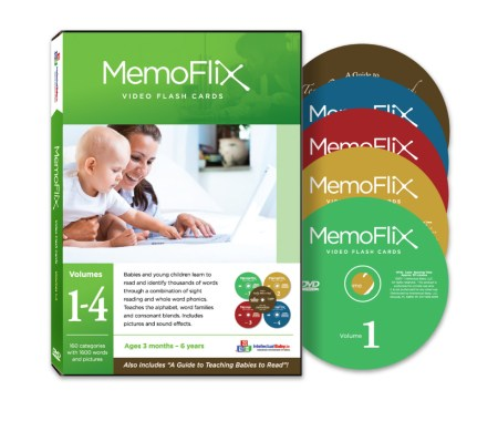 MemoFlix Flash Card DVDs