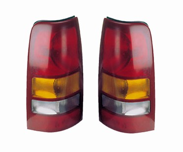 GMC Sierra Replacement Tail Light At Monster Auto Parts Sierra tail lights PAIR tail light lens cover housing assembly