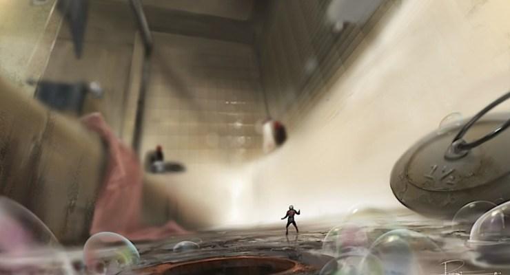 Marvel's Ant-Man..Conceptual Artwork of Scott Lang/Ant-Man..© Marvel 2014