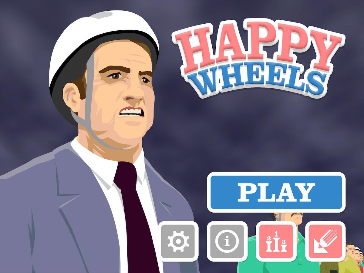 happy wheels original website
