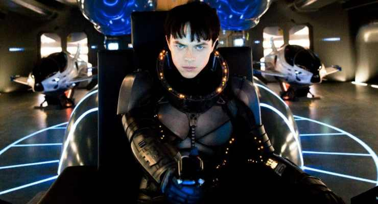 New shot from Luc Besson's Valerian and the City of a Thousand Planets