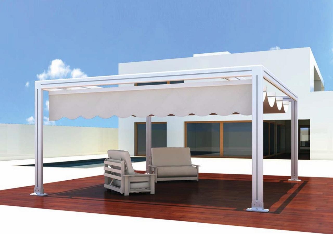 si tienes un balcn una terraza o un patio que quieres proteger de los rayos del sol y la lluvia colocyar un toldo es la medida ms sencilla