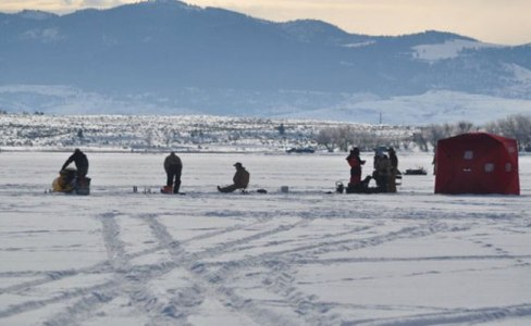 Montana Ice fishing