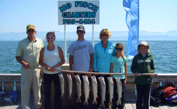 Mack's in April: Flathead Lake Fishing Report
