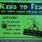 """Kids to Fish"" Program : 400 Hi-Line Youths are able to borrow Fishing Gear and Tackle for Free!"