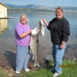 Monster Trout – 29 1/2 pound, 42 incher in the Flathead Lake Fishing Report